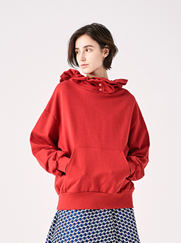 Frill Hoodie