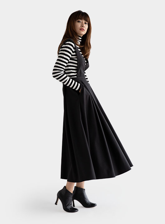 Flare Jumper Skirt