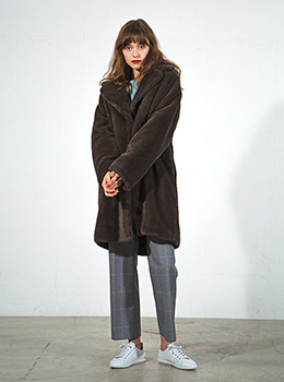 Eco-Fur Coat