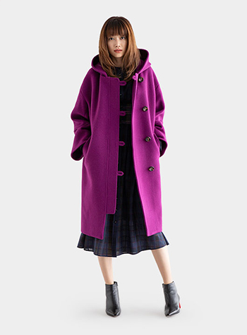 Superior Double Beaver Hooded Coat